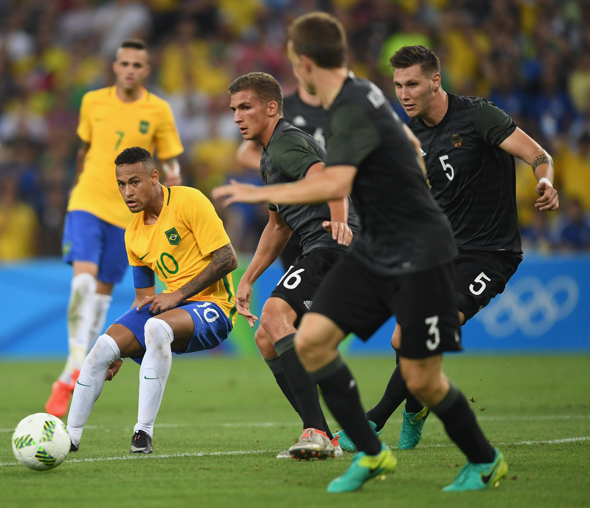 Brazil defeated Germany in the men's Rio 2016 final ©Getty Images