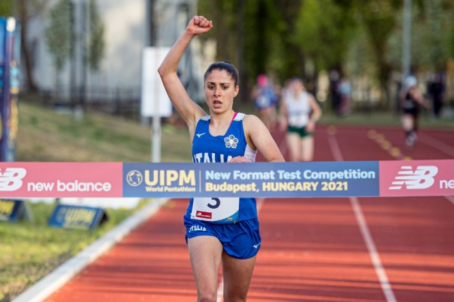 Alice Rinaudo of Italy praised the new UIPM format for Paris 2024 after winning the third test event in Budapest ©UIPM