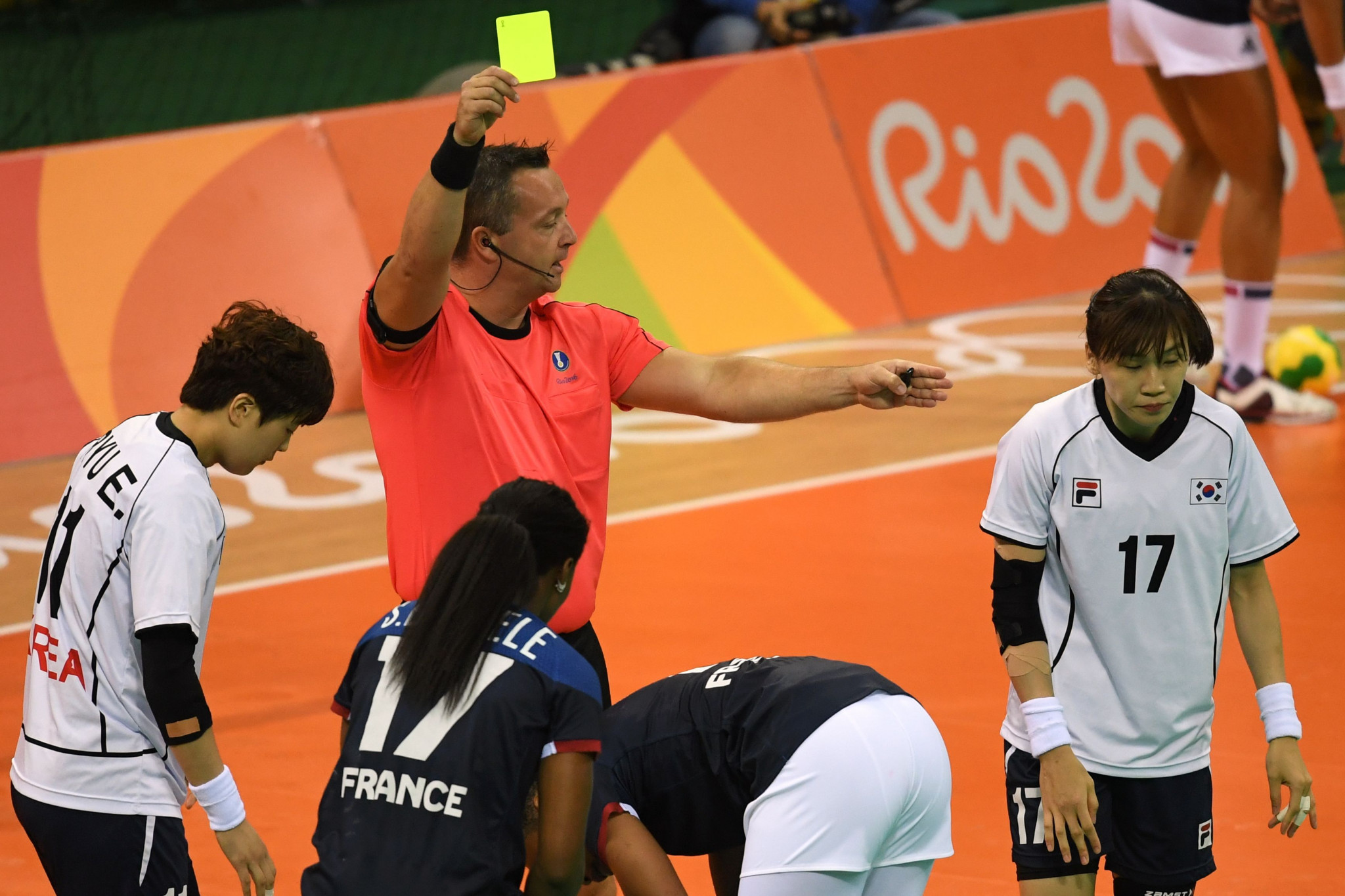 The USA Team Handball is aiming to improve the standing of refereeing ahead of Los Angeles 2028 ©Getty Images