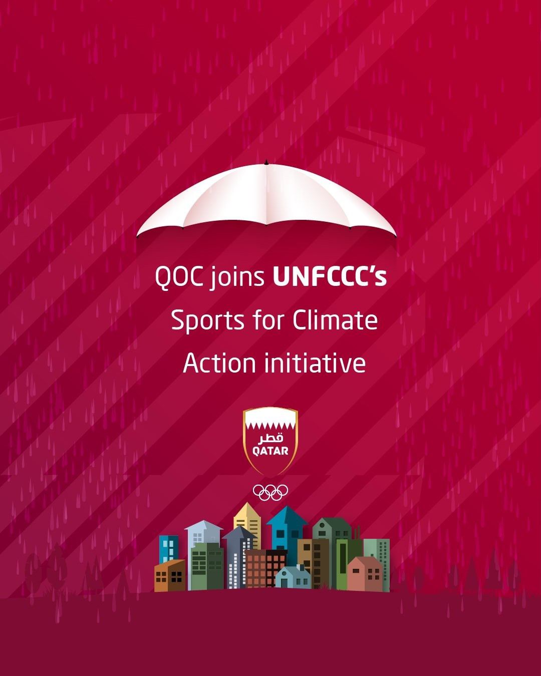 Qatar Olympic Committee signs up to UNFCCC Sports for Climate Action initiative