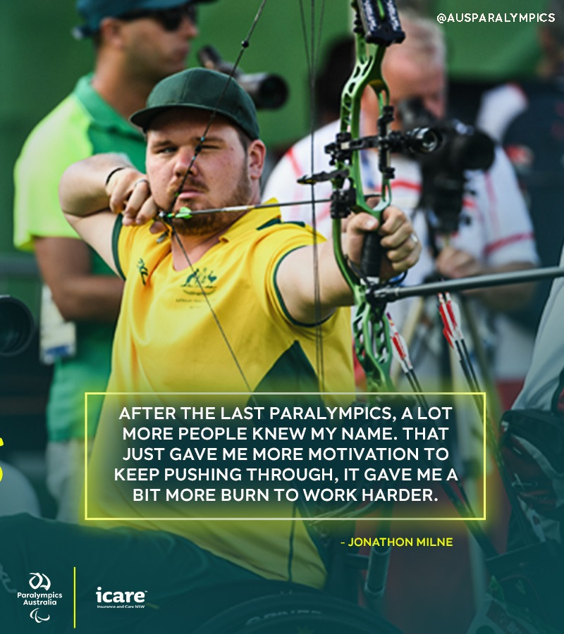 Para-archer Milne aiming to back up Rio 2016 medal with Tokyo 2020 success