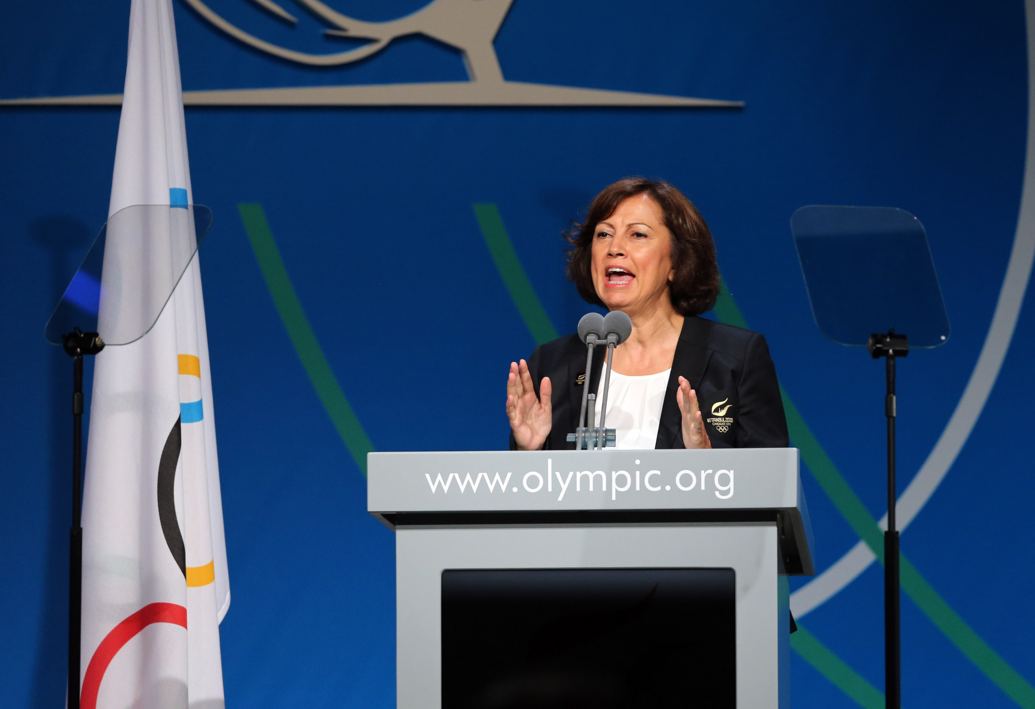 Turkish Olympic Committee secretary general and ANOC Executive Council member Neşe Gündoğan met with Ghanaian officials to discuss a link-up between the two countries ©Getty Images
