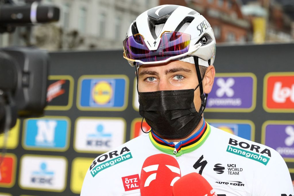 Slovakia's Peter Sagan won stage one of the Tour de Romandie for Bora-Hangrohe today ©Getty Images