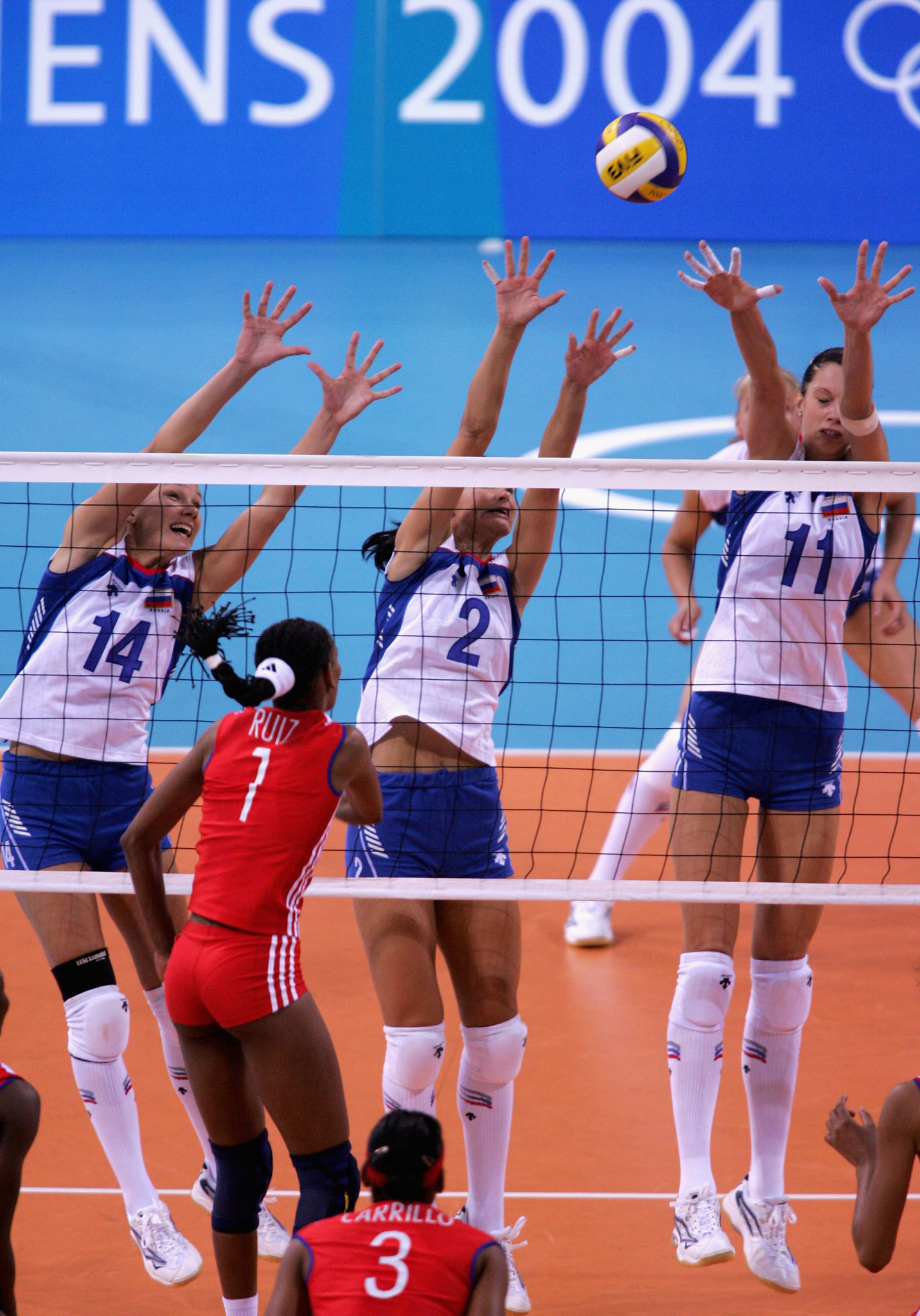 The Yekaterinburg 2023 volleyball venue is named after Nikolay Karpol, who coached Russia to have Olympic volleyball medals, including silver at Athens 2004 ©Getty Images