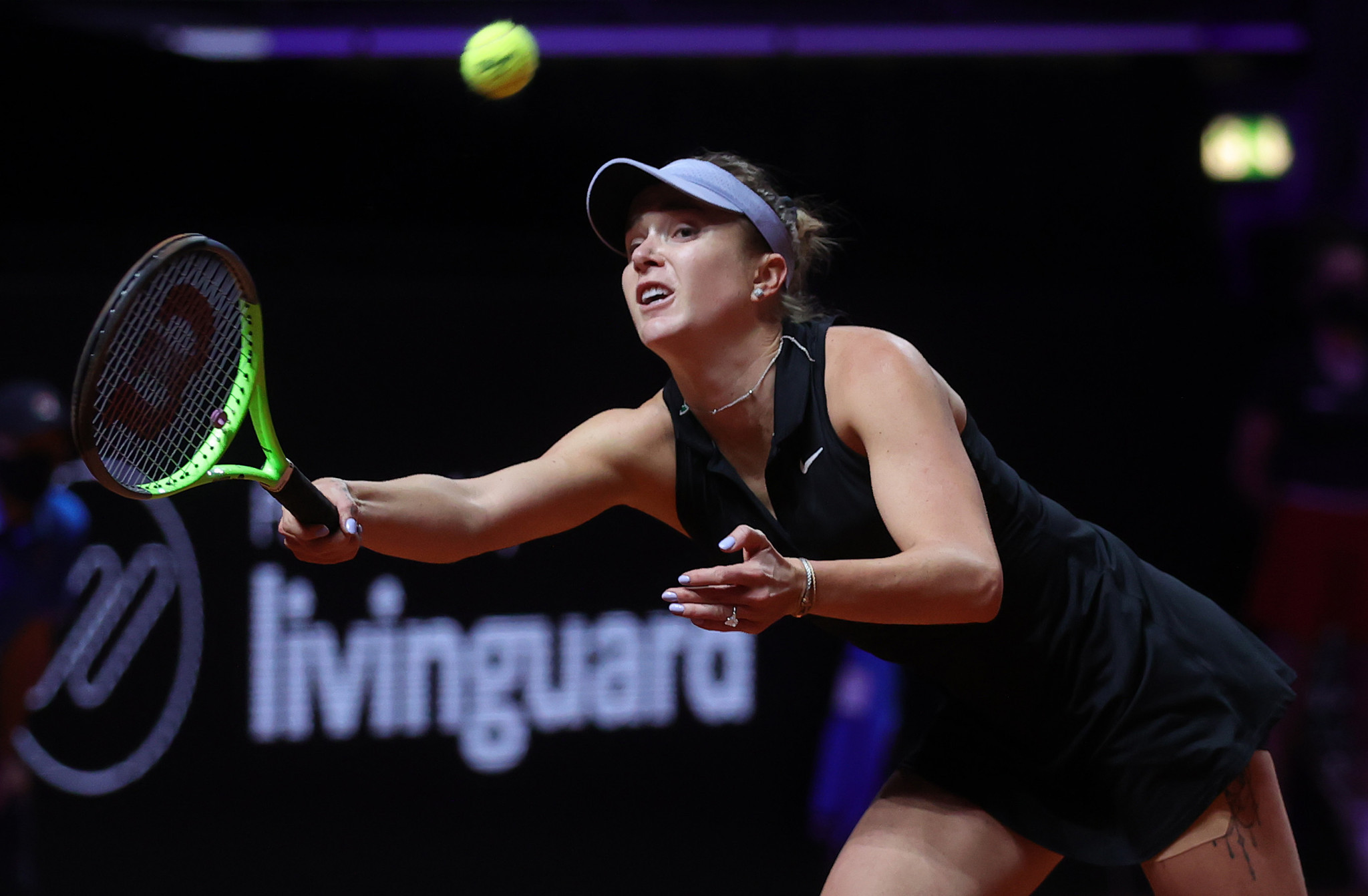 Elina Svitolina suffered a shock opening-round defeat to Jil Teichmann ©Getty Images