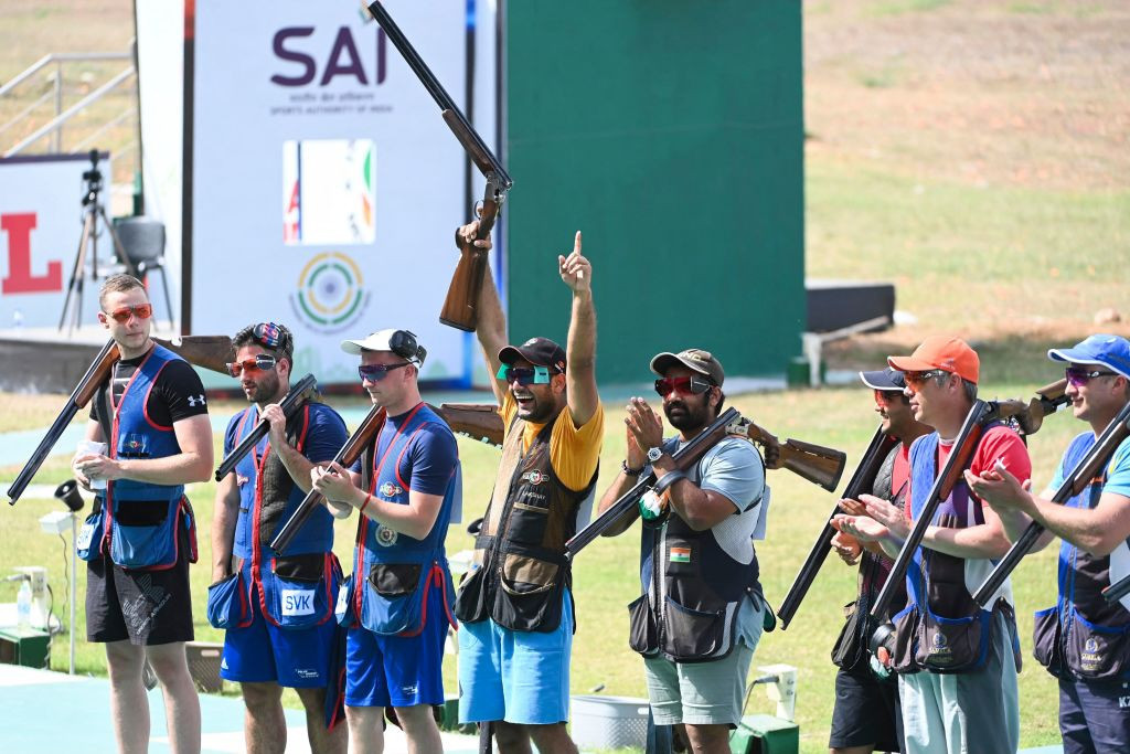 New Delhi staged an ISSF World Cup in March, where several positive COVID-19 cases were reported ©Getty Images