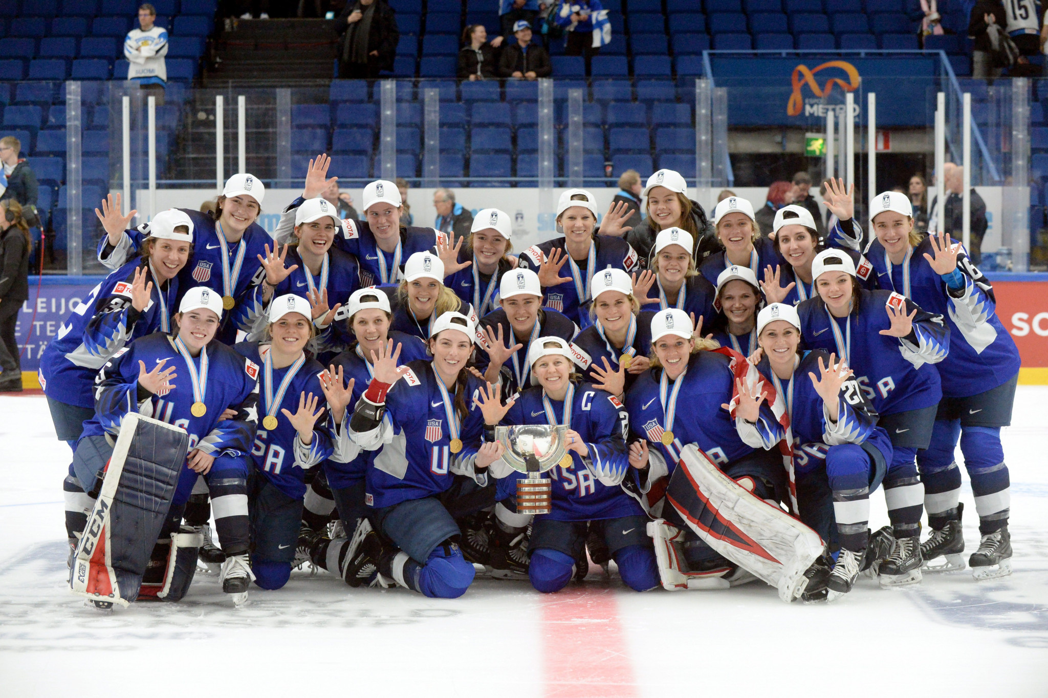 The United States will be hoping to defend their title when the Women's World Championship is held in August ©Getty Images