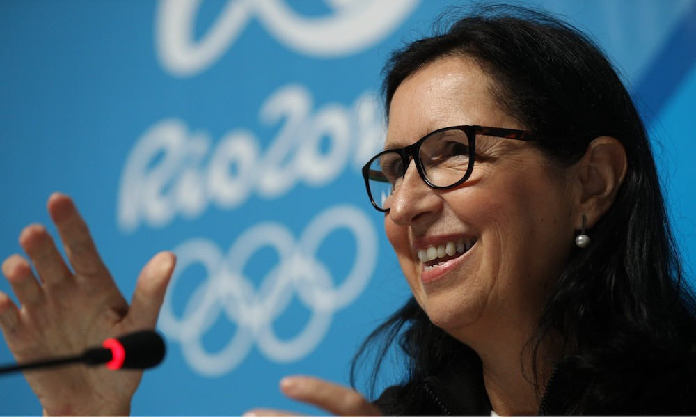 Tricia Smith has been unanimously re-elected for a second time as President of the Canadian Olympic Committee ©COC