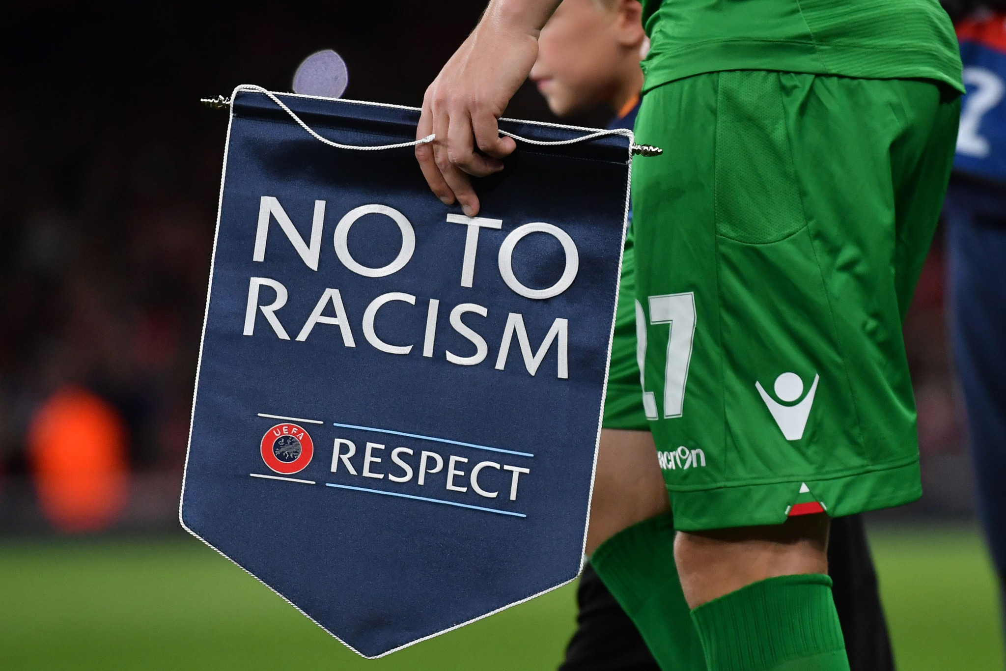 UEFA is among the football bodies to face criticism for the magnitude of its opposition to racism compared o its opposition to a breakaway competition ©Getty Images