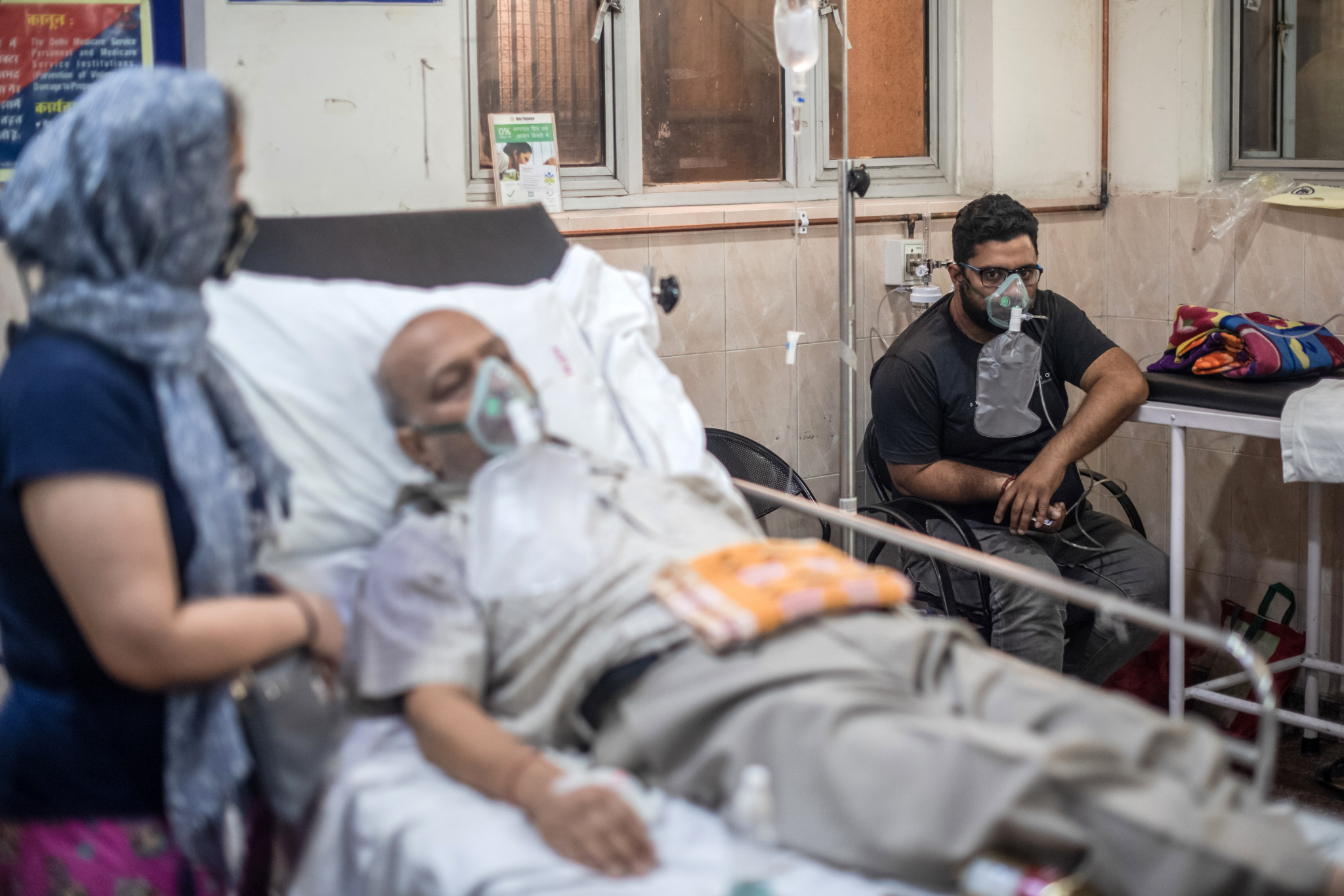 Hospitals in India have been struggling with a shortage of oxygen as the number of COVID-19 patients continues to rise ©Getty Images