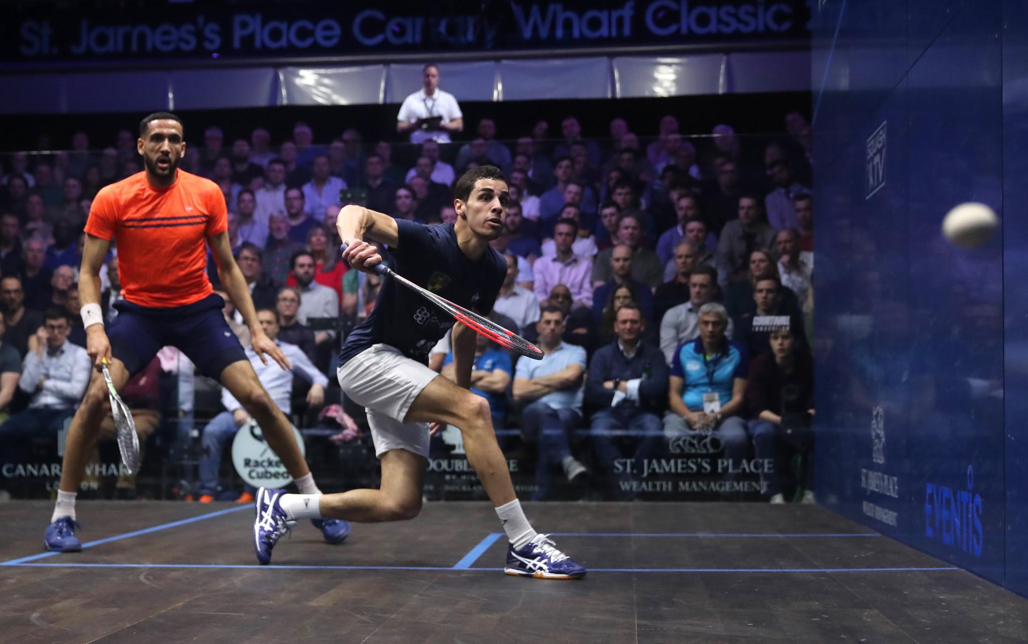 Farag and El Sherbini lead way as top 20 of PSA world rankings unchanged