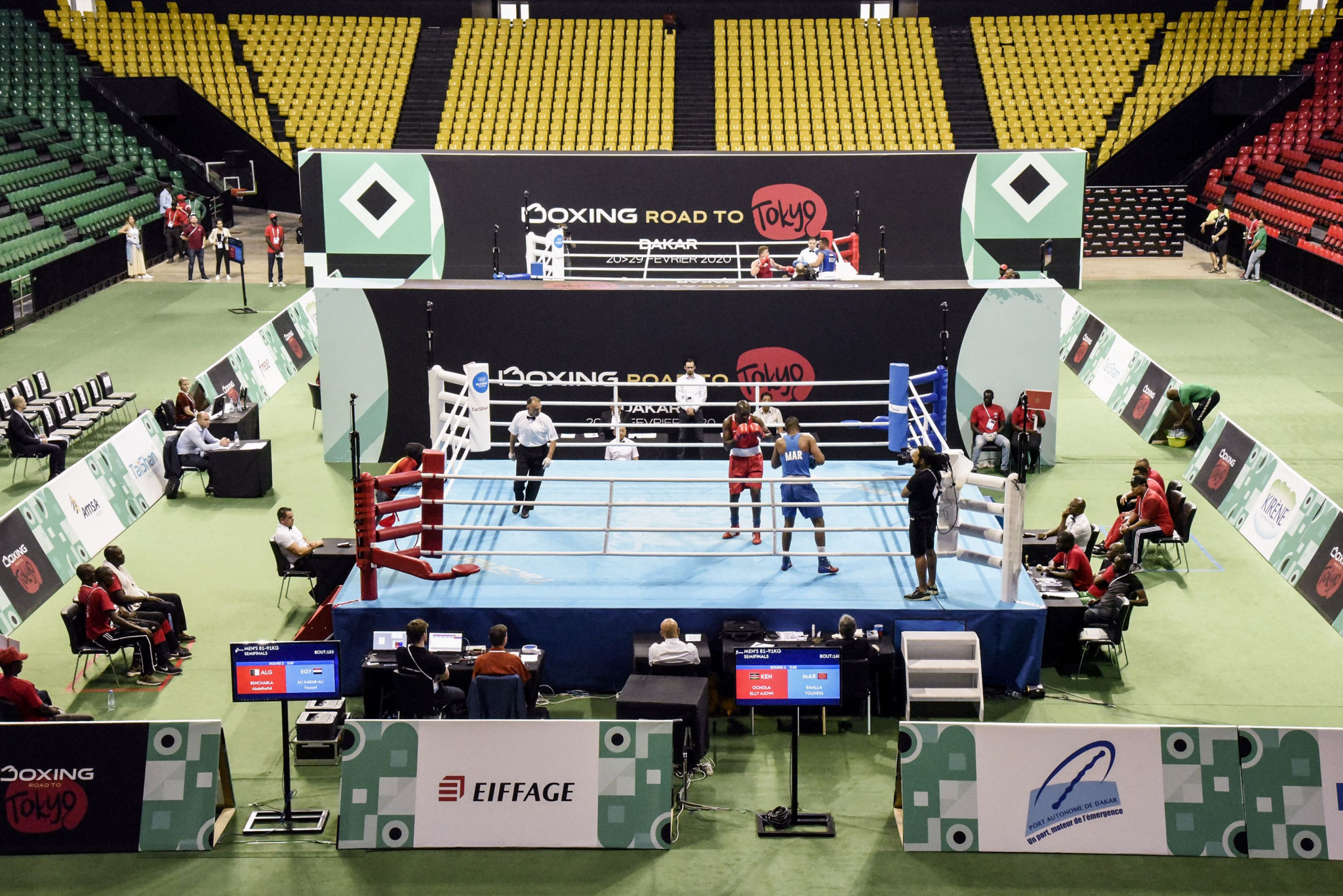 Dakar Arena staged the African boxing qualifier for Tokyo 2020 ©Getty Images