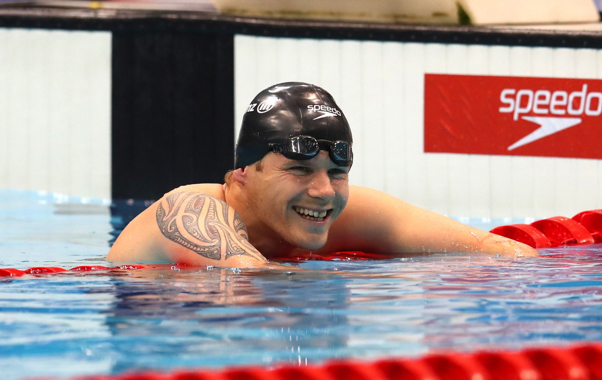 Cameron Leslie won 150 metres individual medley SM4 gold at the last three Paralympics ©Getty Images
