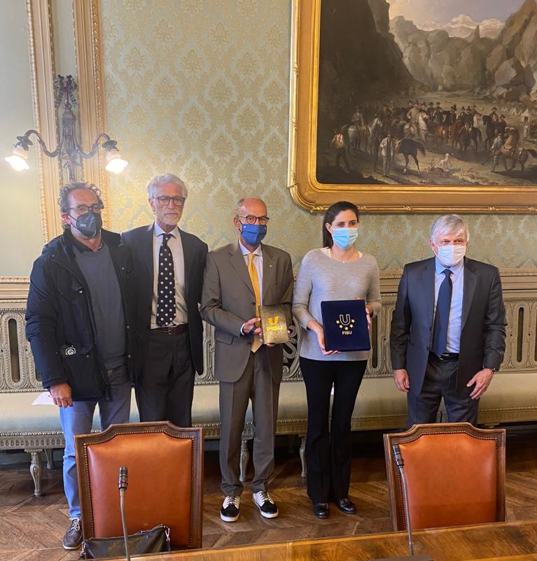 FISU visits Turin ahead of proposed awarding of 2025 Winter World University Games