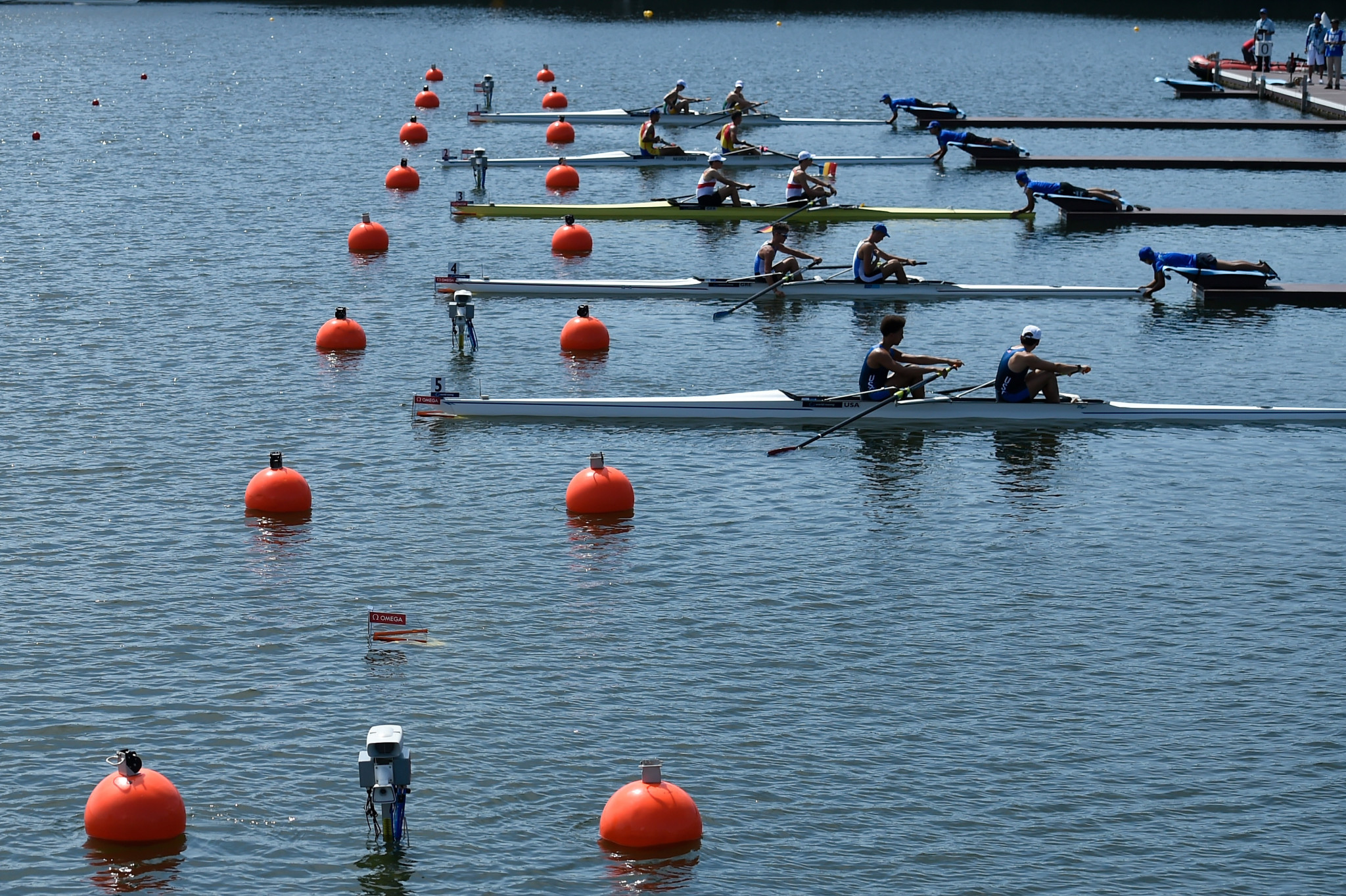 Tokyo 2020 rowing course opens for Asia-Oceania Olympic qualification regatta
