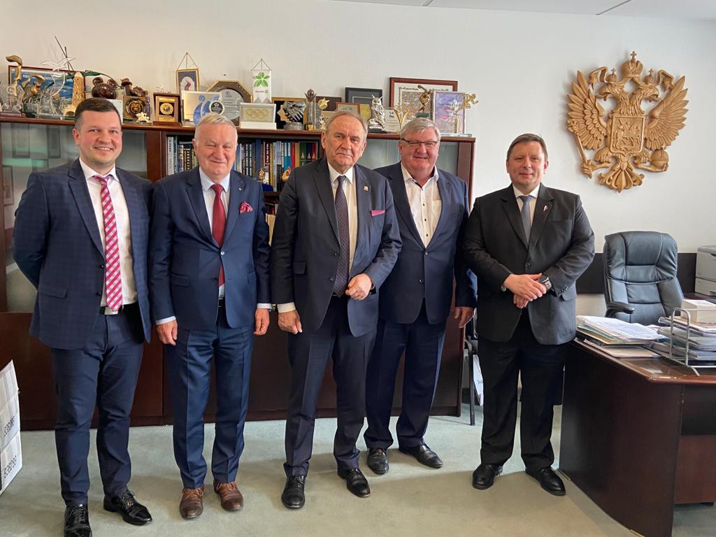 Preparations for the 2023 Summer World University Games were high on the agenda during a meeting between Polish and Russian officials ©FISU