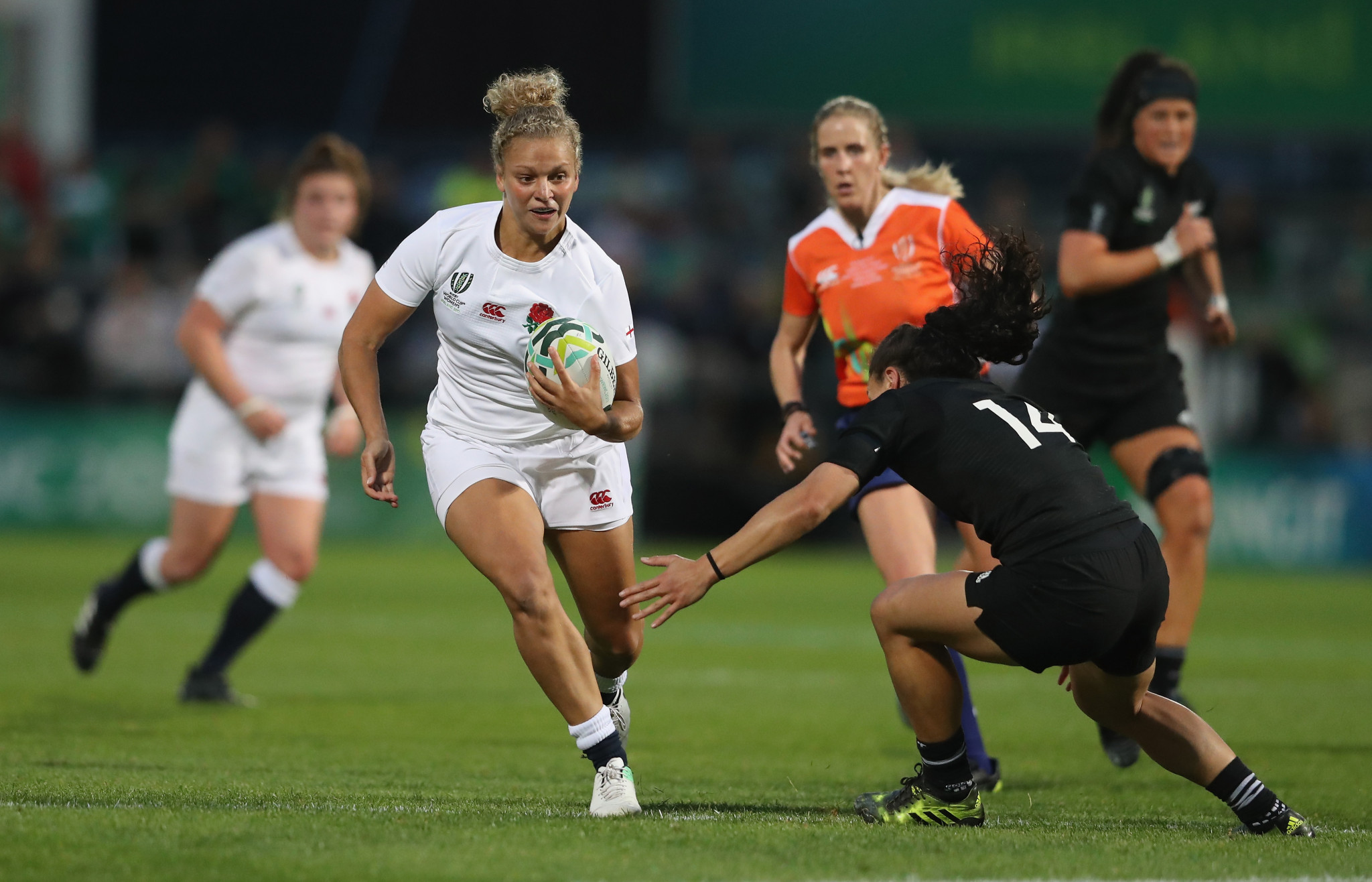 A feasibility study is ongoing for the 2025 Women's Rugby World Cup ©Getty Images
