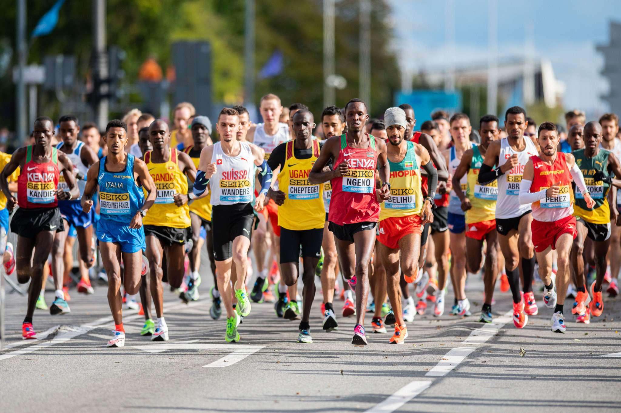 A bid has been submitted for the inaugural World Athletics Road Running Championships ©Getty Images