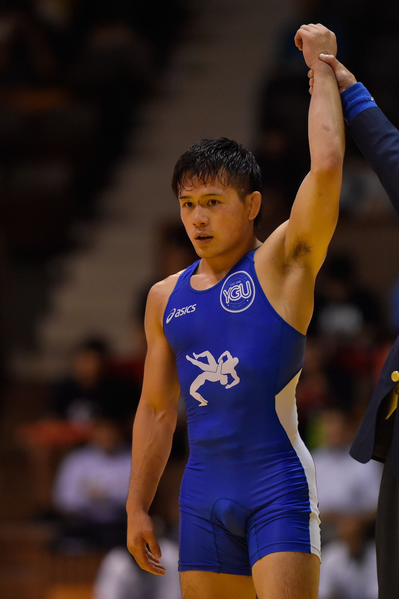 Yuki Takahashi of Japan was one of two wrestlers to secure places at a home Olympics on day one of the UWW World Olympic Games qualifier in Sofia ©Getty Images