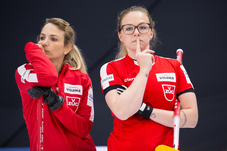 Silvana Tirinzoni's Switzerland have qualified for the playoffs ©WCF/Steve Seixeiro