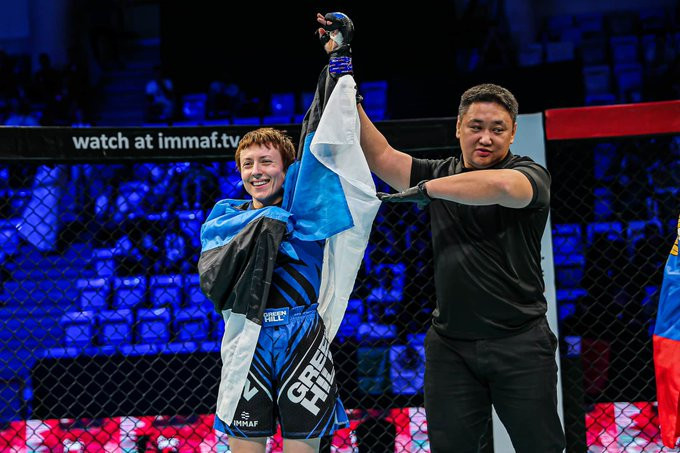 Estonian Olympic Committee recognises MMA as a sport