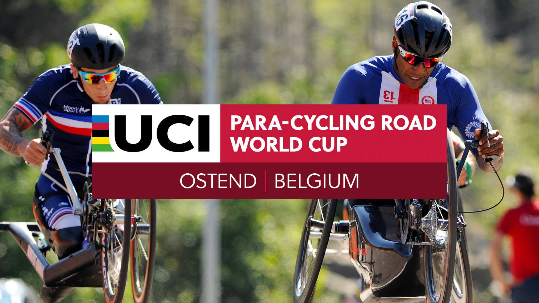 The second day of time trial races were held in Ostend ©UCI
