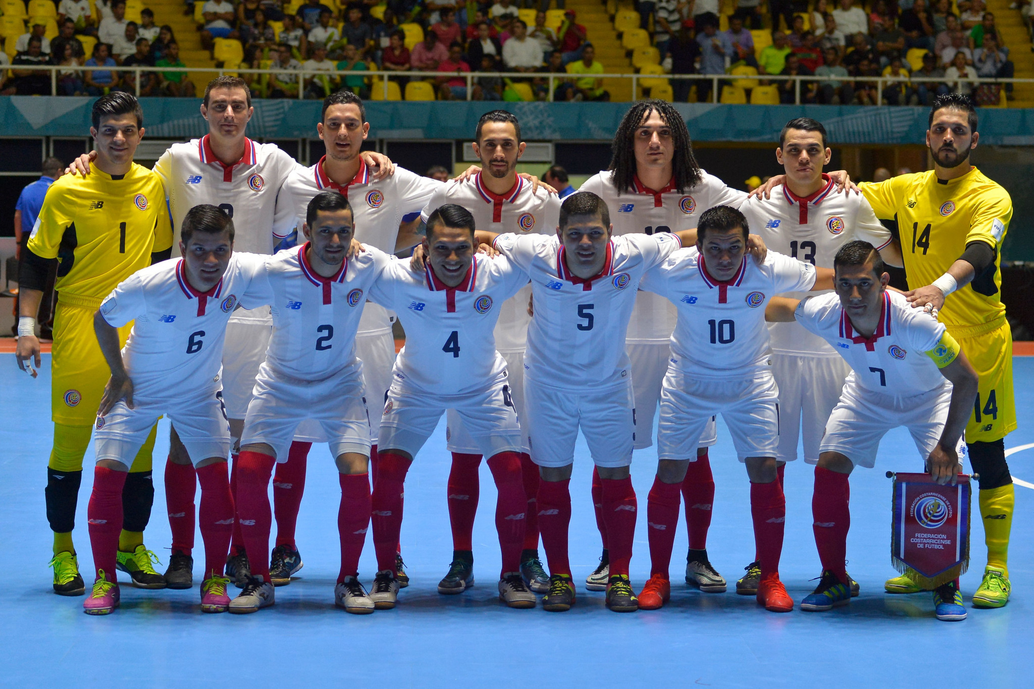 Costa Rica among four teams to earn World Cup spots at CONCACAF Futsal Championship