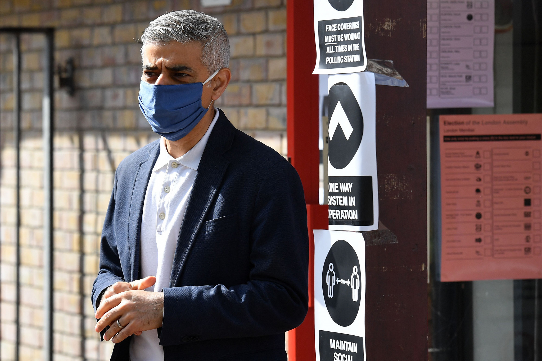 Sadiq Khan pledged to explore hosting the Olympic and Paralympic Games if re-elected as London Mayor, a victory confirmed last night ©Getty Images