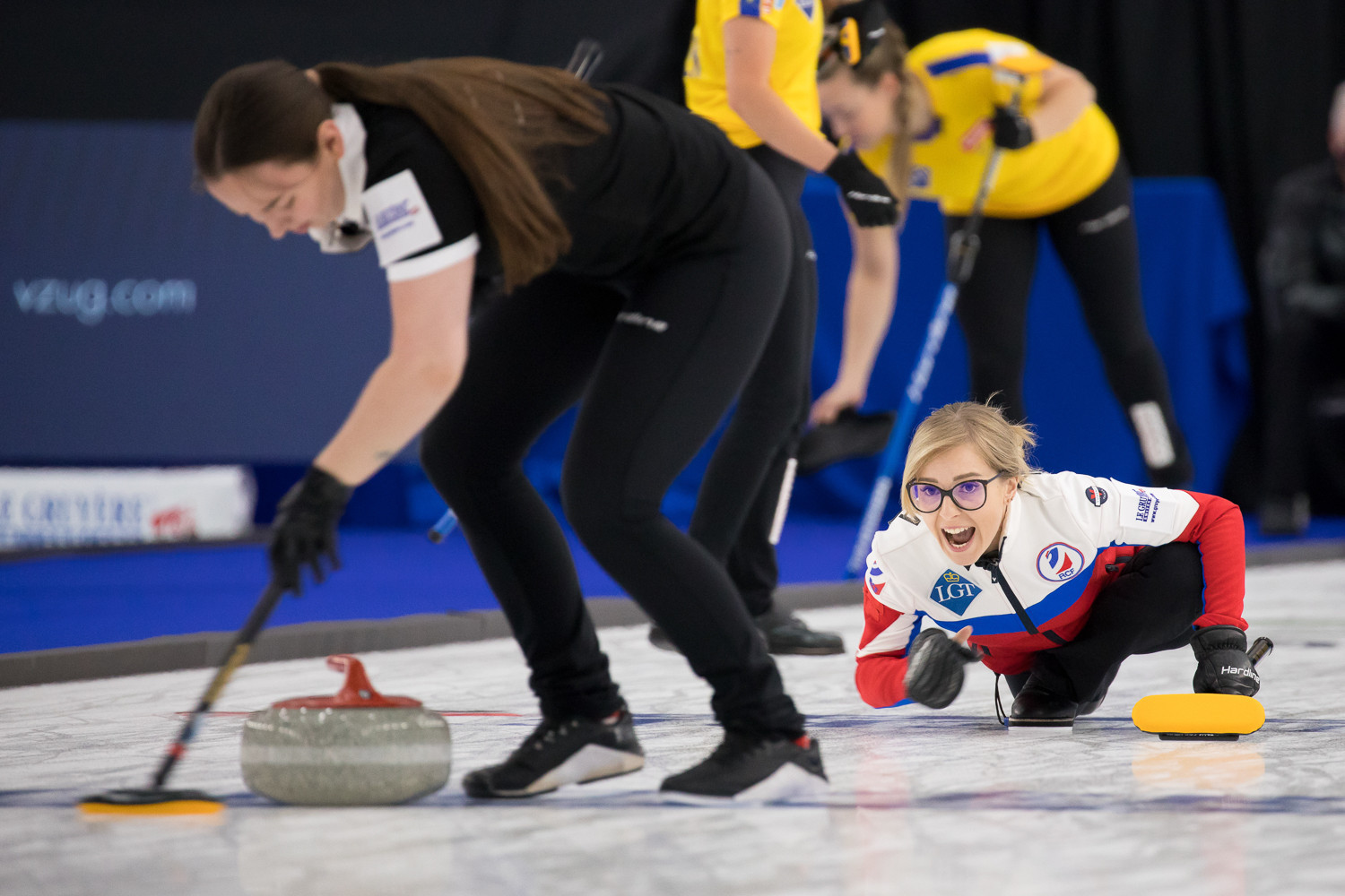 The RCF has made the final of the World Women's Curling Championship ©WCF/Steve Seixeiro