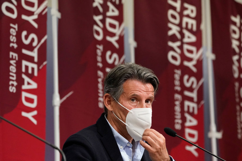 World Athletics President Sebastian Coe, speaking before the Tokyo 2020 athletics test event, said athletes understood the Games would be more challenging than usual but that they wanted them to go ahead ©Getty Images