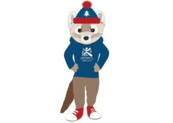Rocky Marten, designed by Melanie Chapman, is one of the eight shortlisted mascot designs ©I Love NY