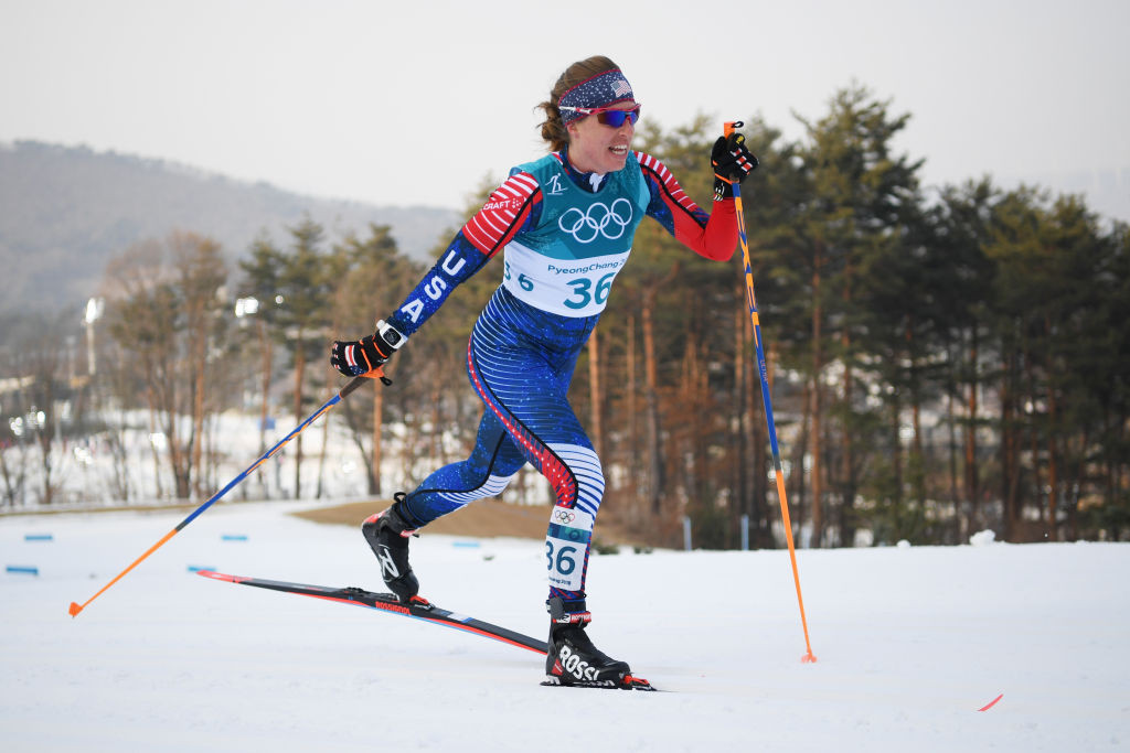 Two-time FIS World Cup winner Rosie Brennan is named in the US cross-country skiiing team for the 2021-2022 Olympic season ©Getty Images