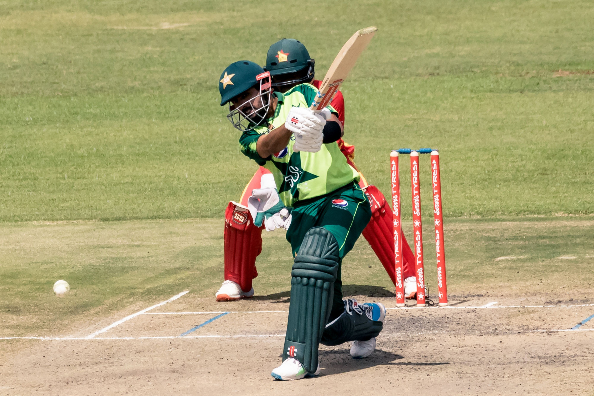 Babar Azam will face Pakistan teammate Fakhar Zaman and Nepal's Kushal Bhurtel in the battle to win the men's ICC Player of the Month award for April ©Getty Images