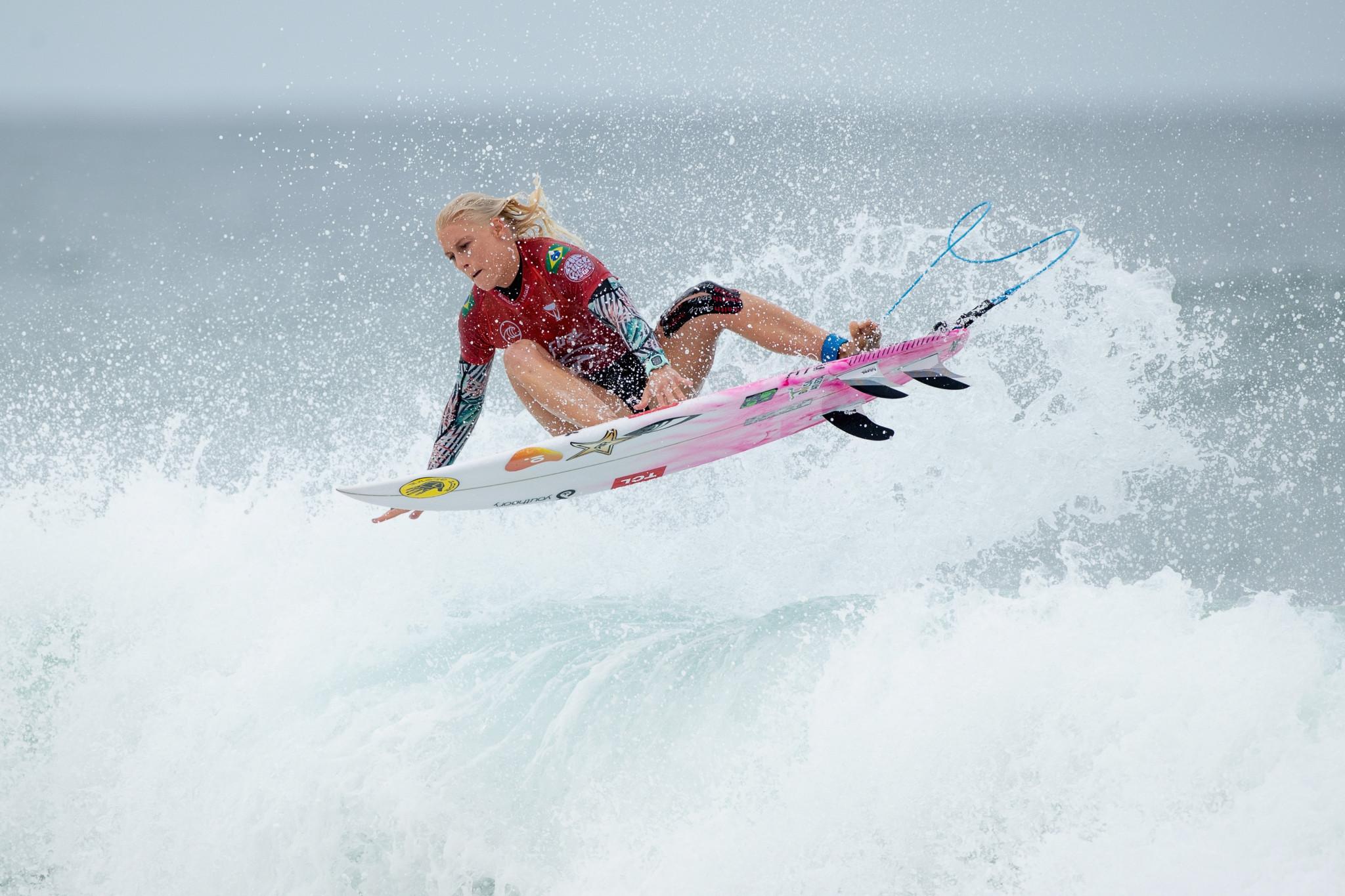 Weston-Webb dedicates World Surf League win to Macaulay family after tragedy