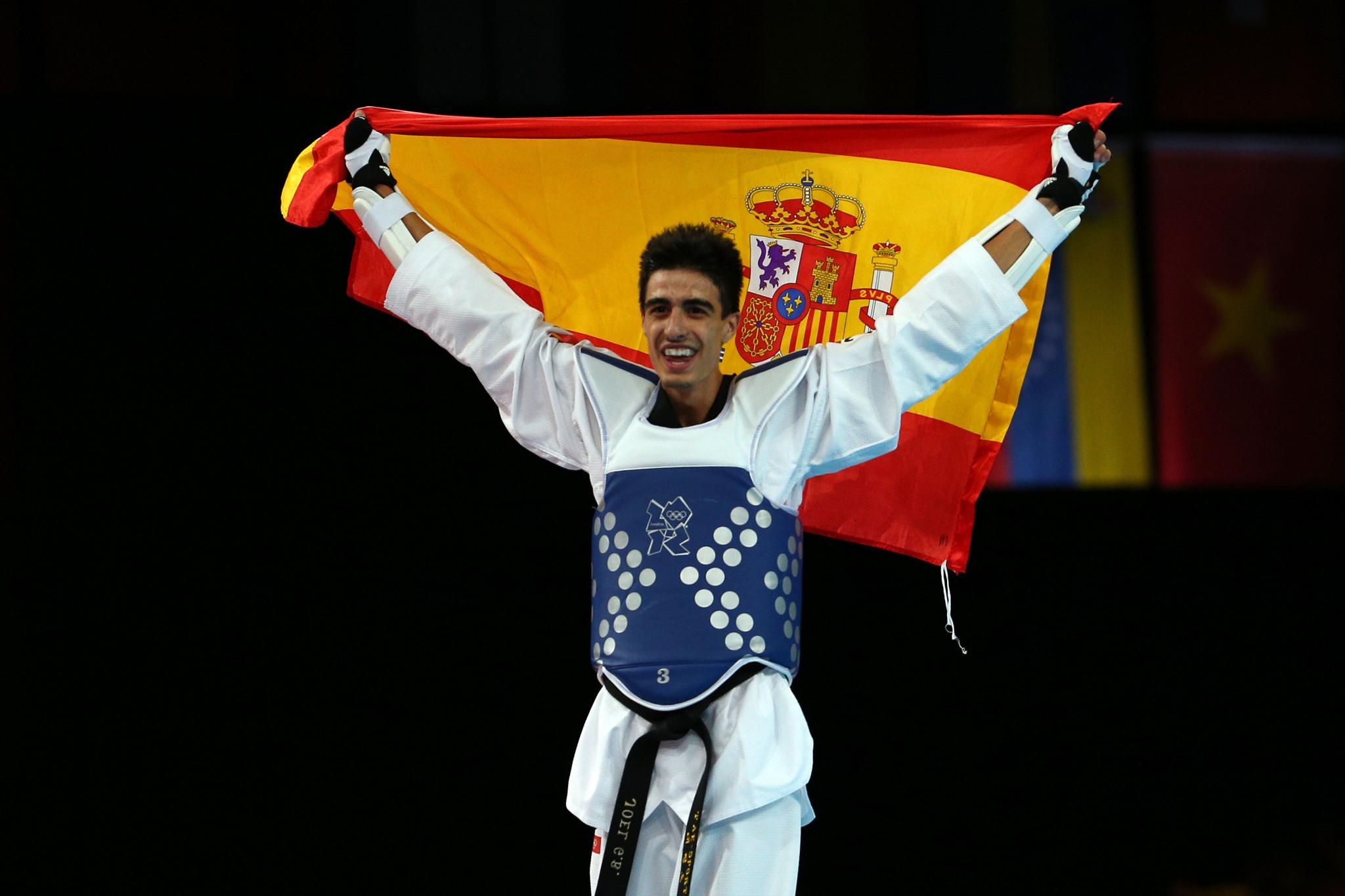 Joel González won taekwondo gold for Spain at London 2012 ©Getty Images