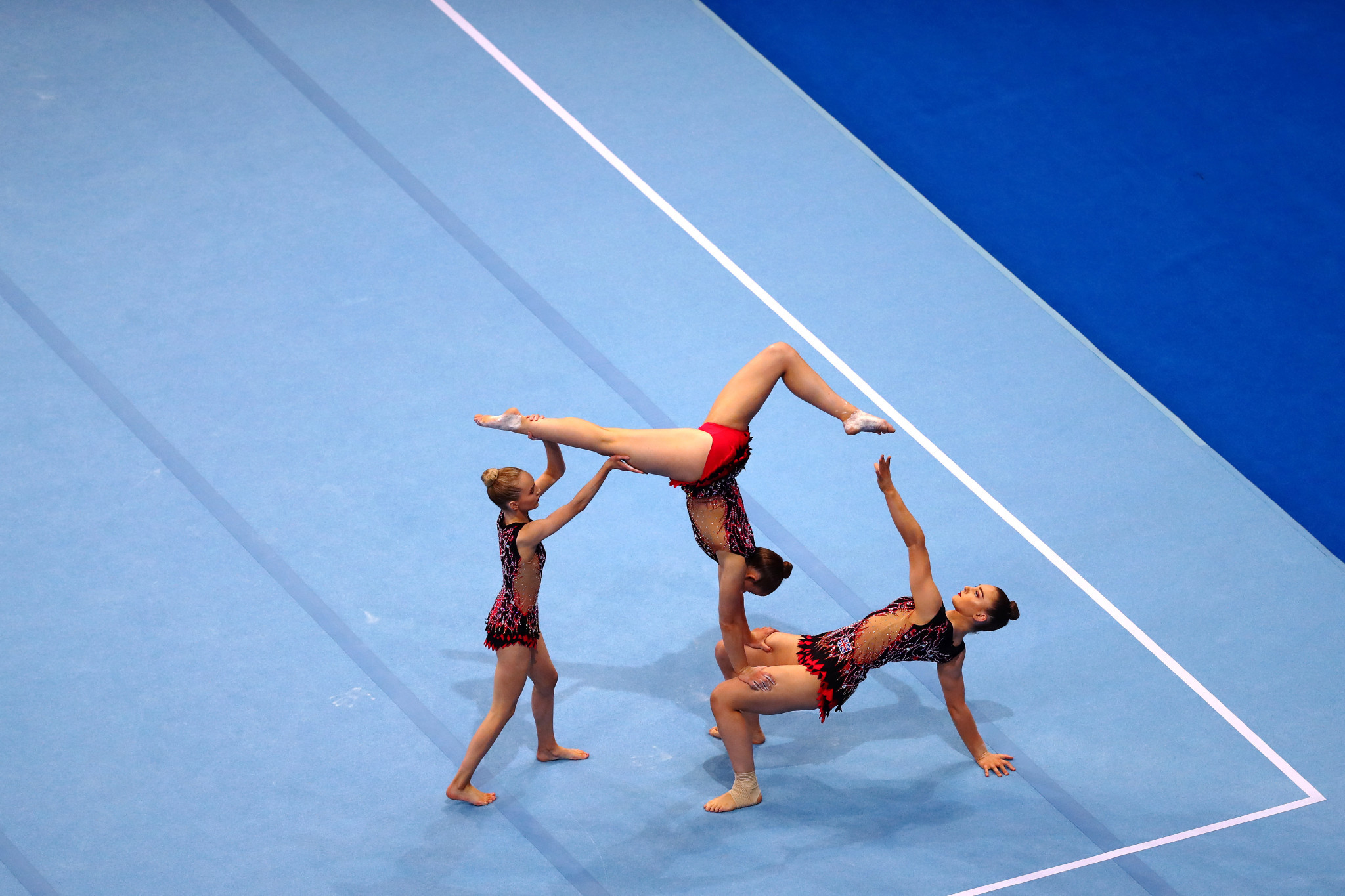 The European Acrobatic Gymnastics and European Acrobatic Age Group Championships have been brought forward by a week and moved venue in Pesaro ©Getty Images
