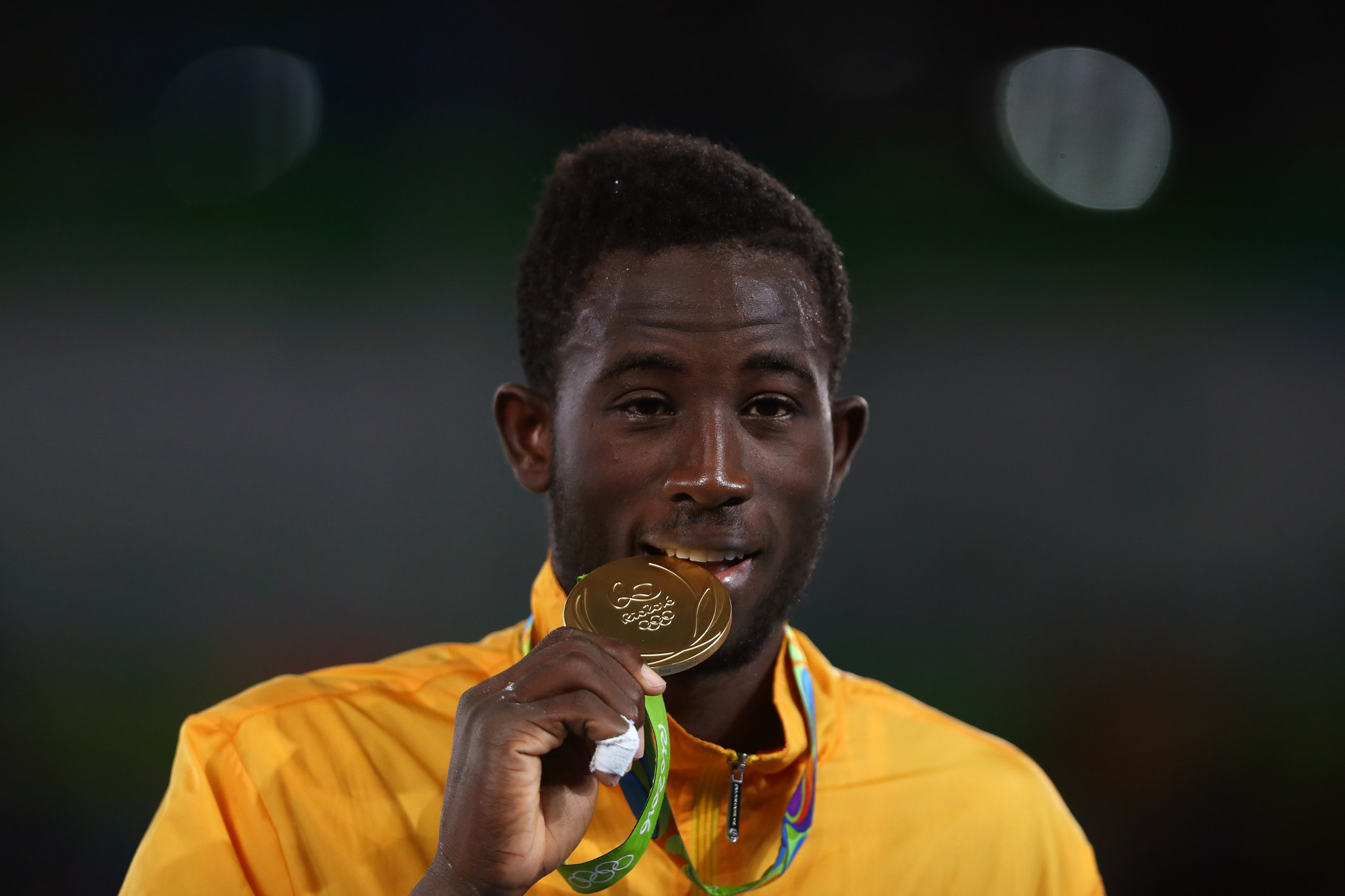 Cheick Sallah Cissé will defend his Olympic title in Tokyo ©Getty Images