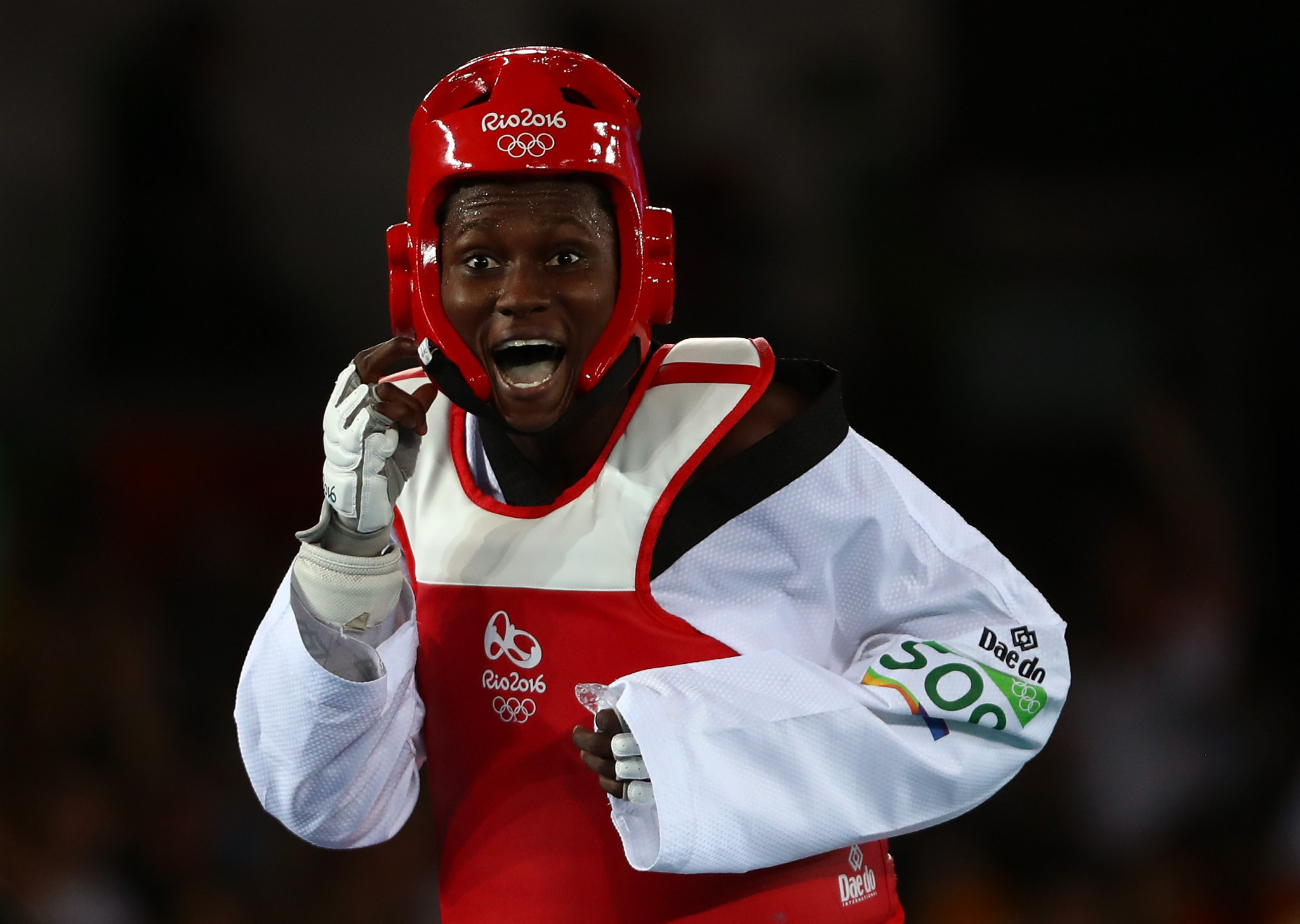 Ruth Gbagbi won Olympic bronze at Rio 2016 ©Getty Images