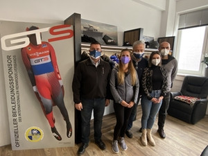 FIL selects uniforms for Olympic season after visit to GTS headquarters in Linz