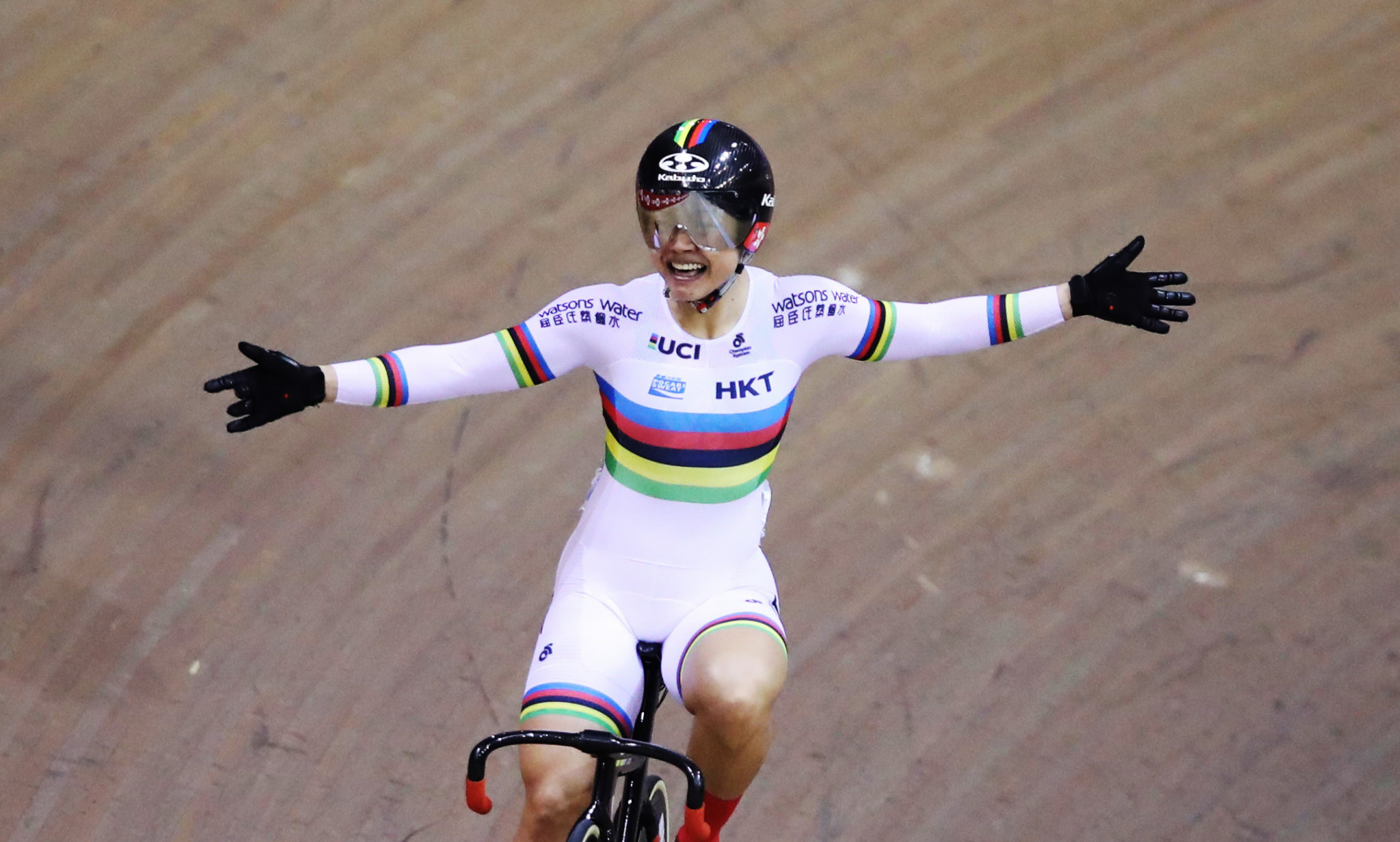 Lee Wai Sze will be Hong Kong's leading cyclist at a home UCI Track Cycling Nations Cup leg ©Getty Images
