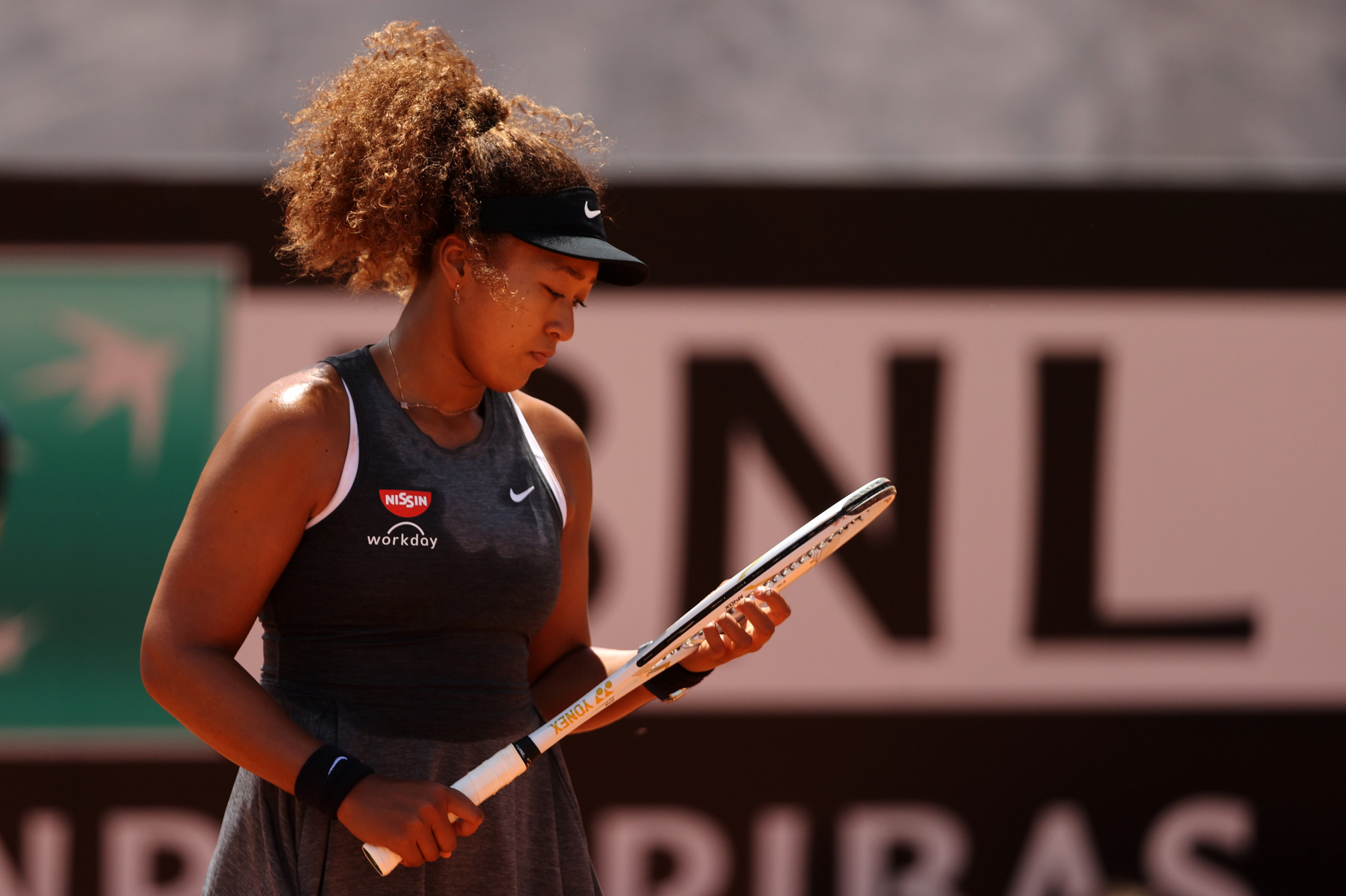 Osaka, Halep and Kenin all out of Italian Open but Nadal overcomes Sinner test