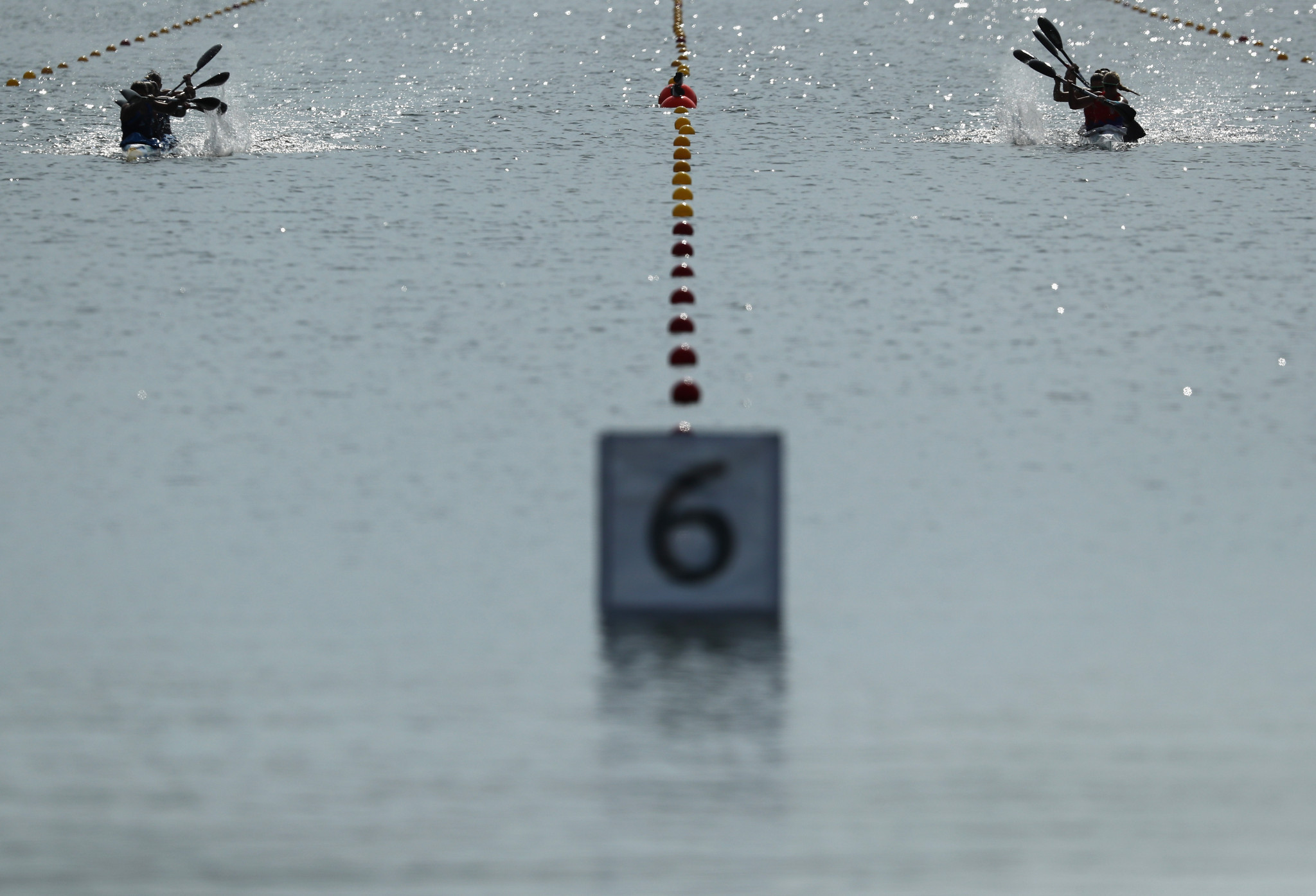 The European Olympic canoe sprint qualifier is underway ©Getty Images