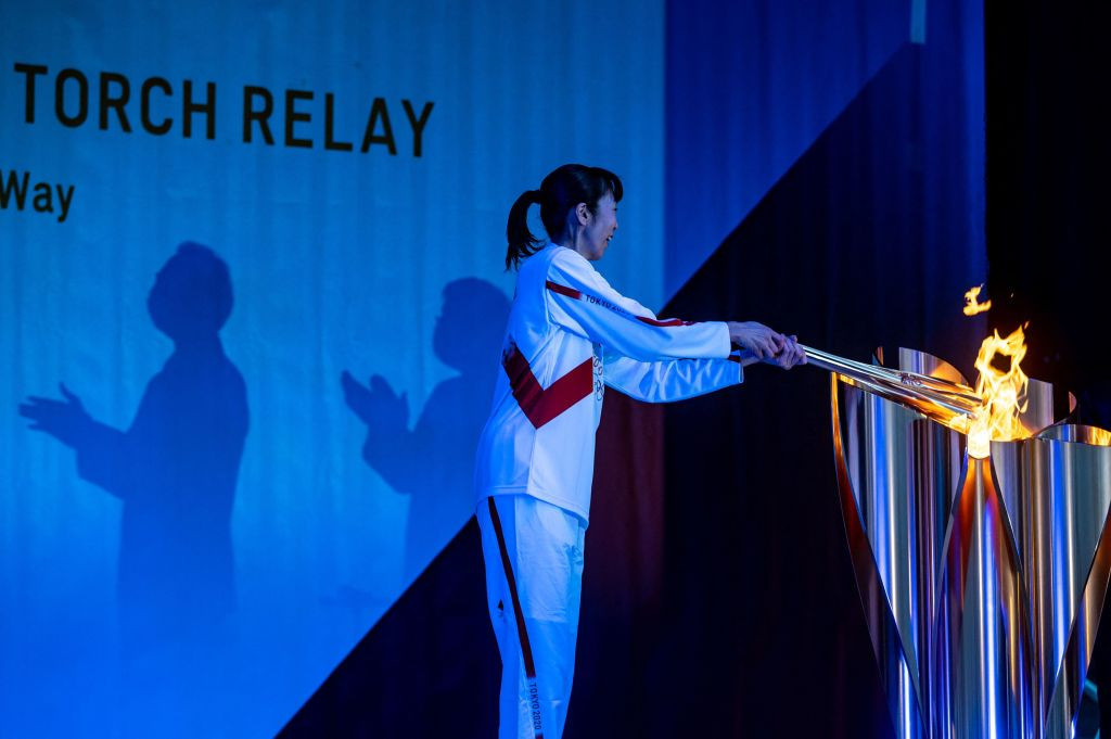 The Tokyo 2020 Torch Relay route has been hit by another coronavirus-enforced alteration ©Getty Images