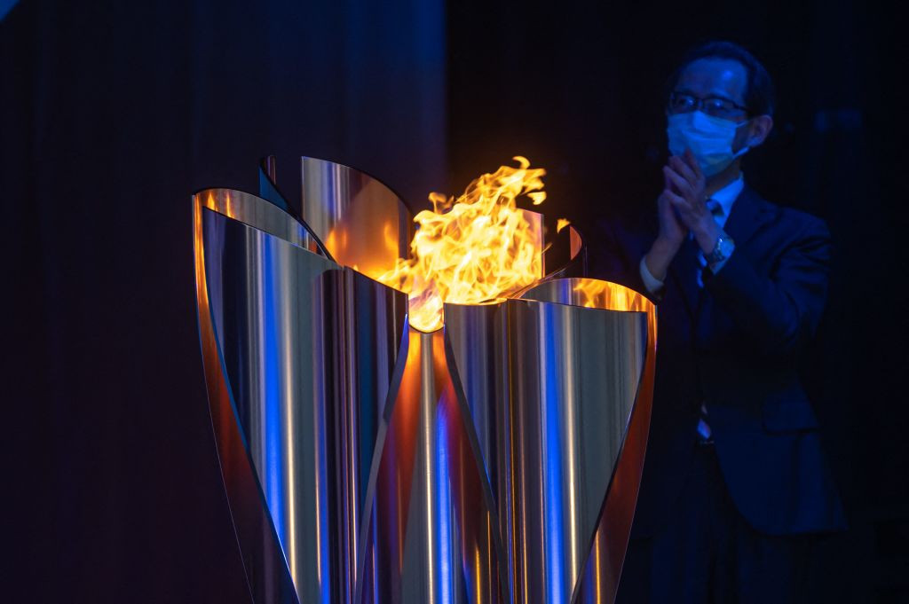The Tokyo 2020 Torch Relay will not pass through the streets of Hiroshima due to COVID-19 ©Getty Images