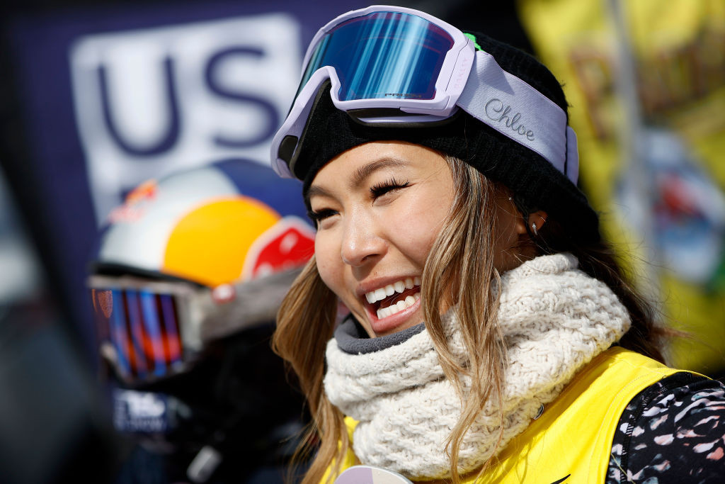Chloe Kim, the Pyeongchang 2018 Winter Olympic champion in the women's halfpipe, is among the stellar names selected on the US snowboard team for the 2021-22 Olympic season ©Getty Images