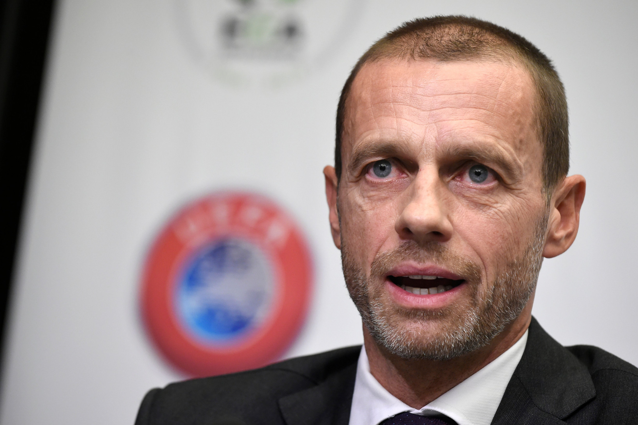 UEFA President Aleksander Čeferin has expressed his opposition to the biennial World Cup plans ©Getty Images