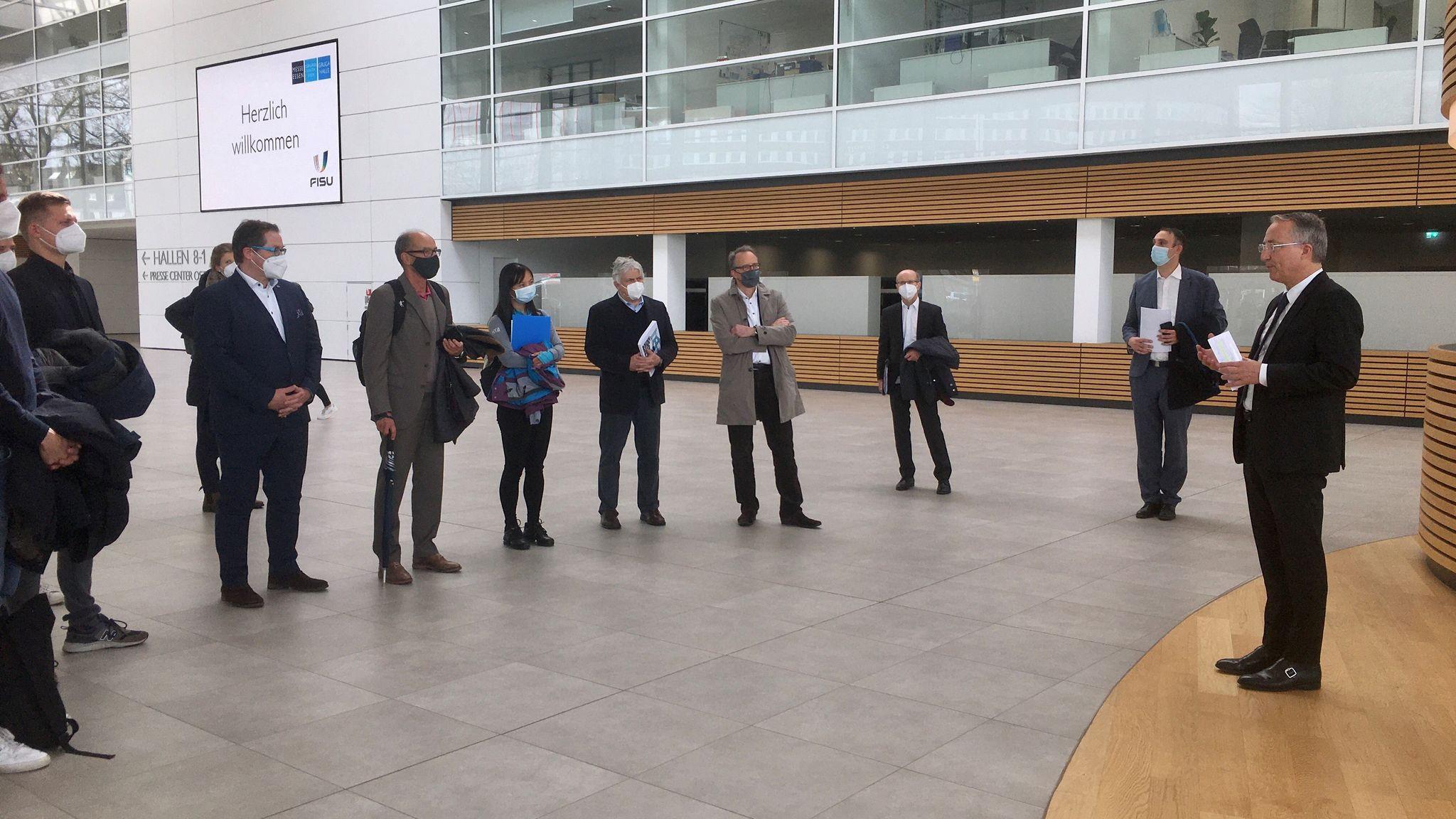A successful site visit was held in Rhine-Ruhr ©FISU