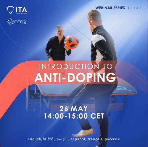 FITEQ make anti-doping workshops compulsory for players