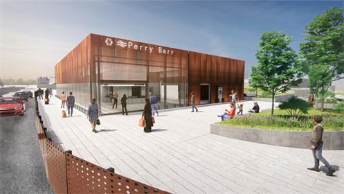 Firm signs £10 million deal to rebuild Perry Barr station in time for Birmingham 2022