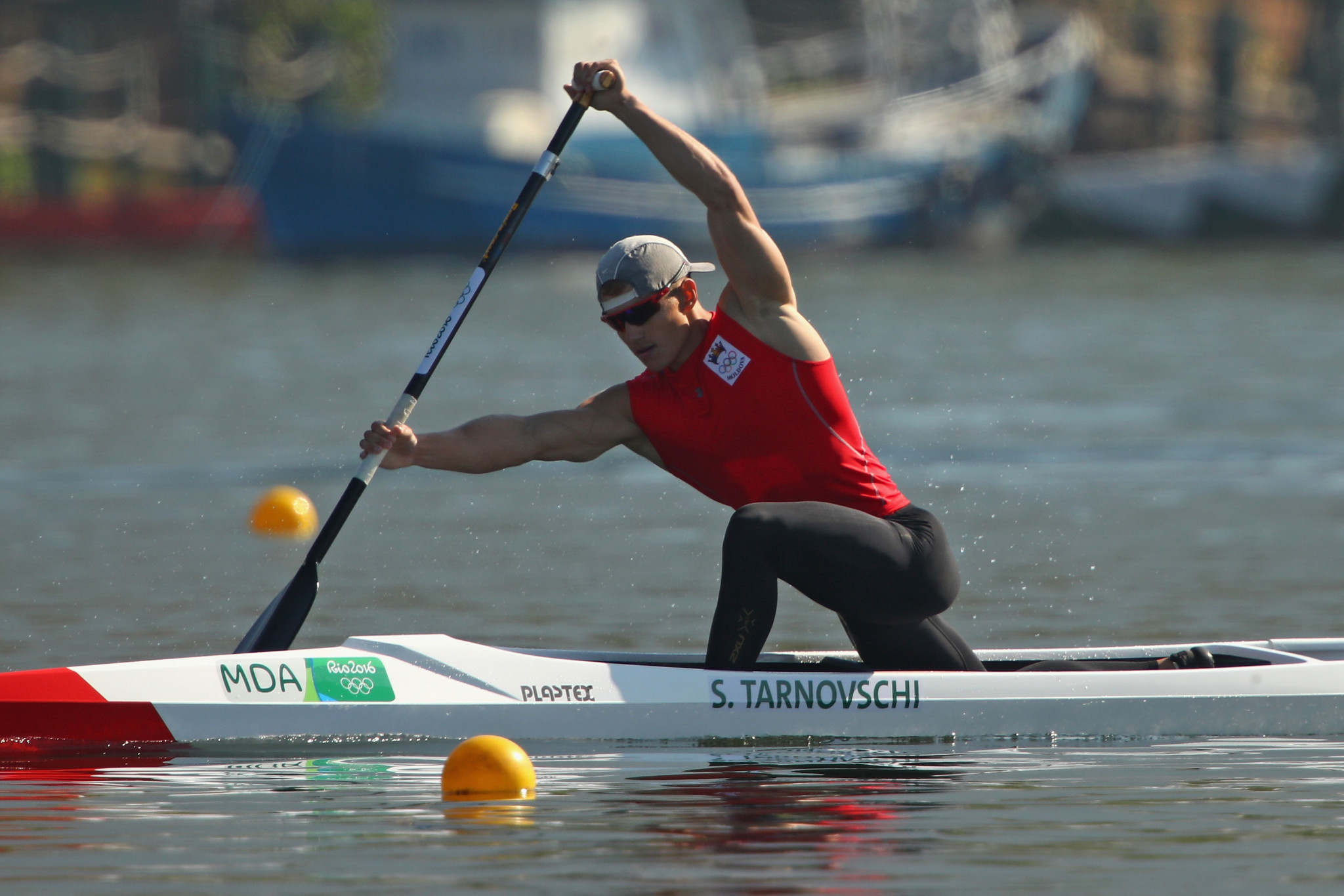 Serghei Tarnovschi qualified for the men's C1 1,000m final with the fastest time ©Getty Images
